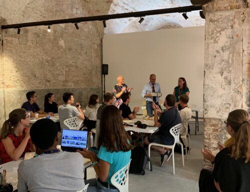 Succesful workshop Held at the Art Biennale