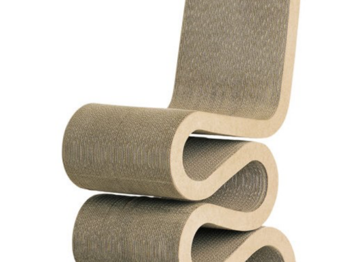 Frank Gehry – Wiggle Side Chair