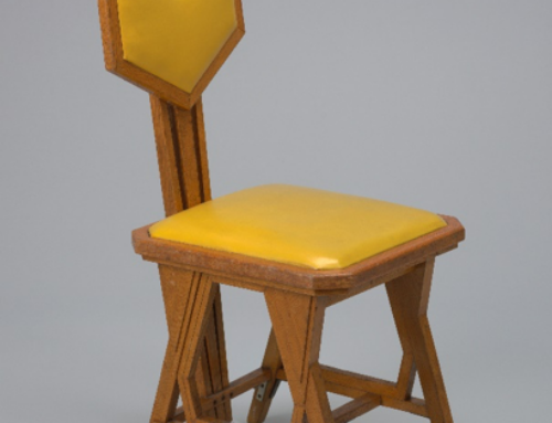 Frank Lloyd Wright – 'Peacock' side chair